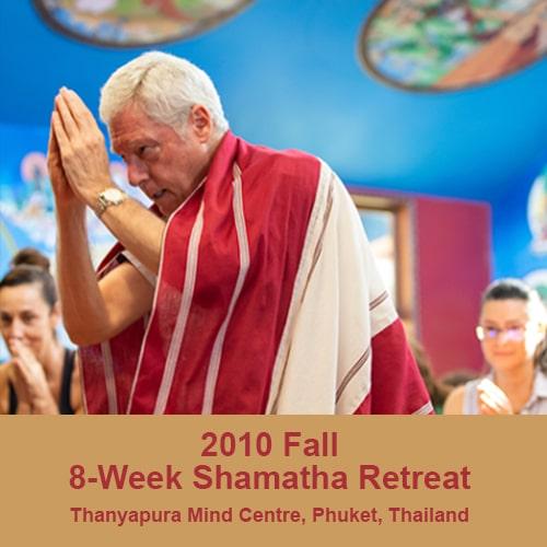 2010 fall 8 week retreat