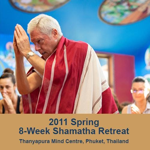 2011 spring 8 week retreat