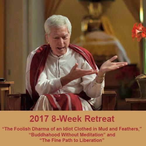 2017 8 week retreat
