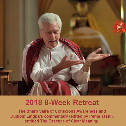 2018 8 week retreat