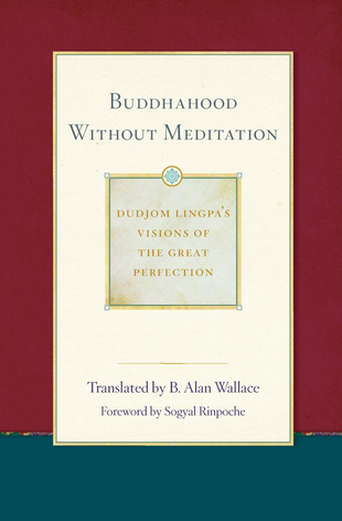buddhahood without meditation book cover