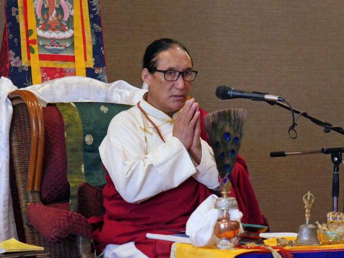 Four Immeasurable with Drub-la Tsampa Karma