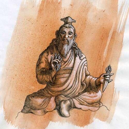 Dudjom-Lingpa-Drawing